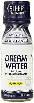 """Dream Water Sleep and Relaxation Shot - NightEA Night 2.5 oz by """"Dream Products"""