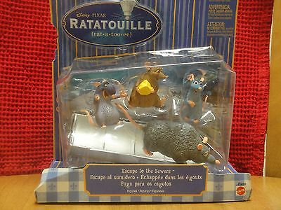 Ratatouille Pixar ESCAPE TO THE SEWERS - Movie Moments