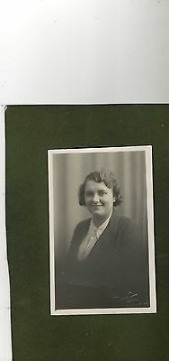 "Vintage Postcard ""Photograph of a Lady"""