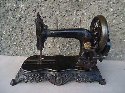 Rare Antique Sewing Machine The American Statue Of Liberty, New York Usa