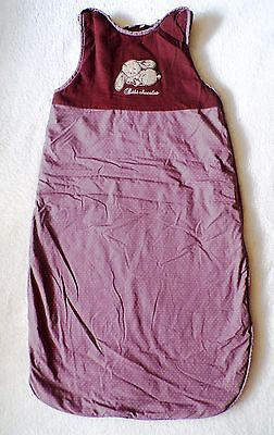 Baby Sleeping bag Boys or Girls 6-12 months (very long) Brown Bunny TKMax thick