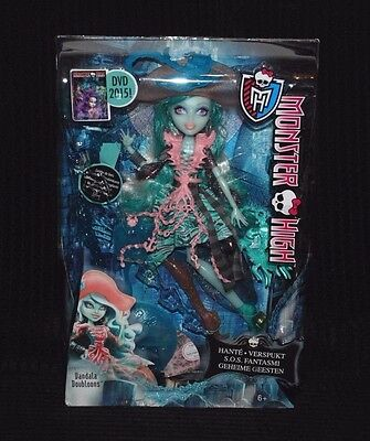 Monster High Haunted Daughter of a Pirate Ghost Vandala Doubloons Doll BNIB