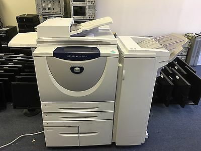Xerox Workcentre 5135 With Finisher Good Condition