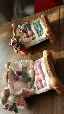 merry mousetales boy and girl dreaming of christmas and santa mouse