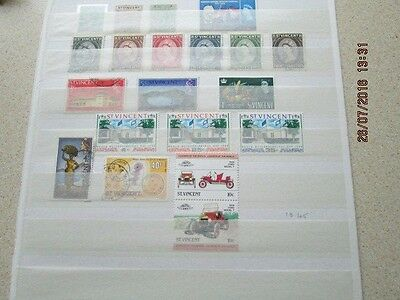 Stamps St Vincent Collection