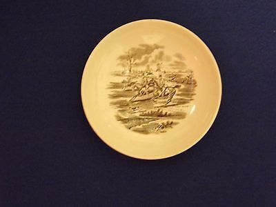 """Copeland Spode 'Hunting' Saucer cup scene 6 """"Full Cry""""  (width 14.5cm)"""