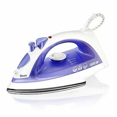 Brand New Swan SI3010N Steam Iron Stainless Steel Soleplate - 1800W