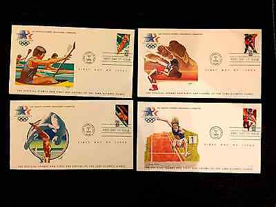 Usa Official Stamps And Fdc's Of The 1984 Olympic Games