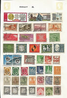 Germany DDR Commemoratives Collection 43 Stamps Good to Fine Used