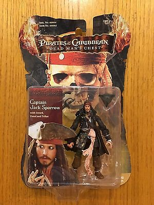 Pirates Of The Caribbean - Captain Jack Sparrow Action Figure - BRAND NEW