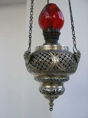 Good Quality Late 18th Century Russian Orthodox  Silver Thurible Lamp.