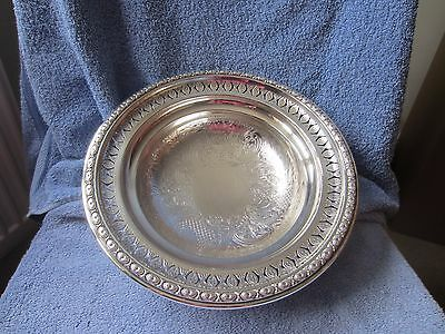 Silver Plate Ornate Bowl - Lowe & Sons Chester
