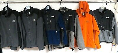 Lot Of 12 Fleece Jackets The North Face Mens Full Zip #1 & #2 Grade Sm /lg /xl