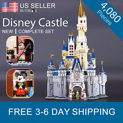 Disney Castle - Compatible with Lego Disney Castle 71040 Princess Mickey Mouse