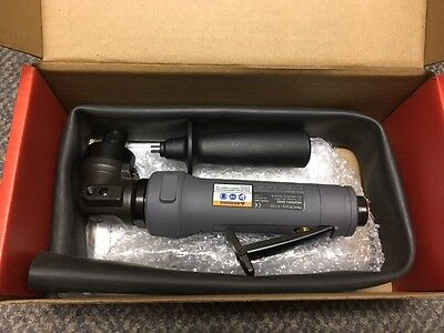 "9-19/64"" Industrial Duty Right Angle Air Die Grinder, 1.0 HP NEW!"