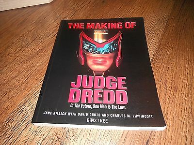 The Making Of Judge Dredd In The Future One Man Is The Law 1995 Paperback Book
