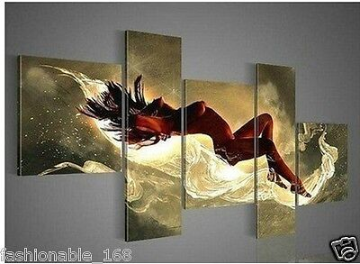 Beautiful MODERN ABSTRACT HUGE WALL ART OIL PAINTING ON CANVAS