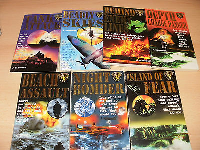 7 warpath war fiction pb books by j. eldridge read gc books 1-4 and 6-8