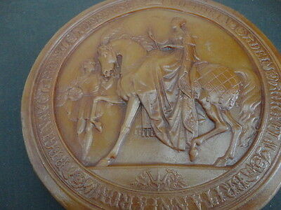 Antique Early Queen Victoria Great Seal Of The Realm (UK)