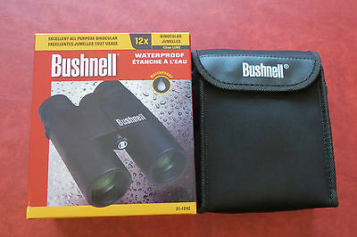 Brand New High Quality Bushnell Waterproof 12x42 Binoculars with Roof Prism 50P?