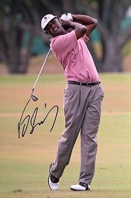 Vijay Singh Signed 8X12 Photo The Masters Pga Championship Coa
