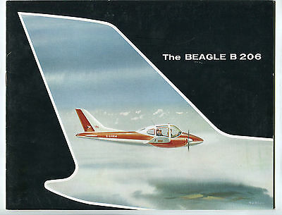Brochure for Beagle B206  - September 1961