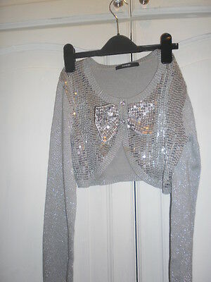 Pretty Silver George Jacket 11/12 Yrs Mint Condition