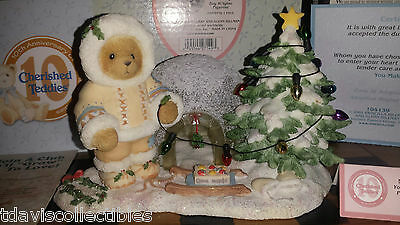 Northrop You Make Every Place Merrier ~ Igloo Christmas CHERISHED TEDDIES 104139