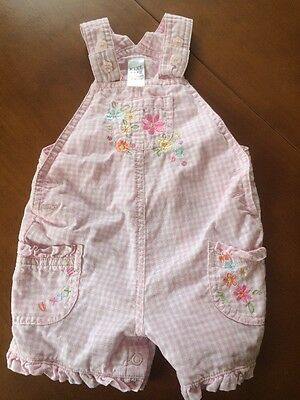 Girls Next Baby Dungarees 0-3 Months