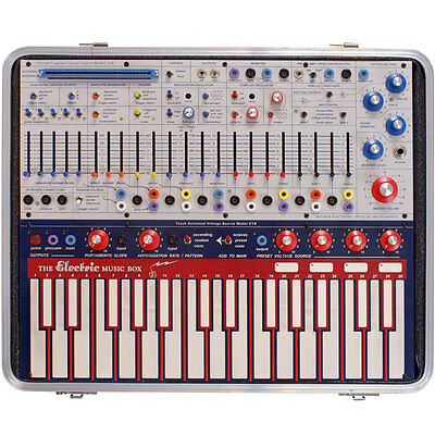 Buchla Music Easel Keyboard Synthesizer with MIDI Arpeggiator Sequencer