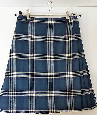 """Ex Hire 30"""" waist 25"""" drop Earl Of St Andrews  8 Yard Wool Kilt A1 Condition"""