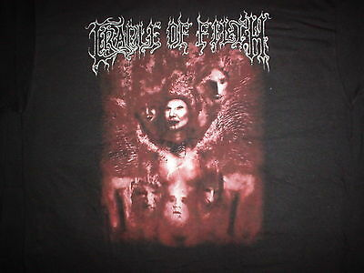 CRADLE OF FILTH Blood For The Gods Bleeding America 2007 NEW RARE Tour L T SHIRT