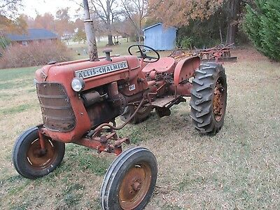Allis Chalmers D12 Series I Tractor and Equipment