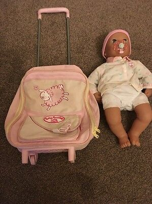 baby annabell Pull Along Case