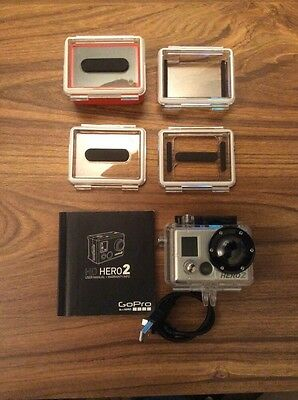 GoPro Hero 2 Camera with accessories – Hardly used.