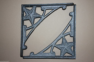 (6),shelf Brackets,lone Star,western,shelf Brackets,western Decor,diy,iron,b-13