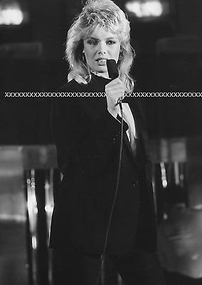 kim wilde kids in america singer 80ties music star set of 2 photos in 7x9