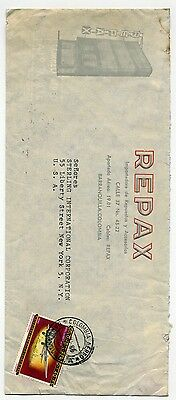 Colombia  1966 air mail cover