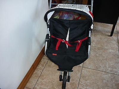 Mamas & Papas Twin Dolls Pram Side by Side With Hood & Shopping Basket