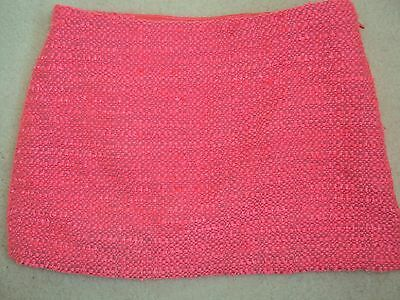 Girls Hot Pink Textured Skirt Size 6 years from GAP