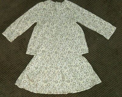 Vertbaudet skirt and blouse. 3 years. EUC.