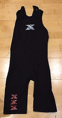 Black Men's Xterra Velocity Speedsuit (Large)