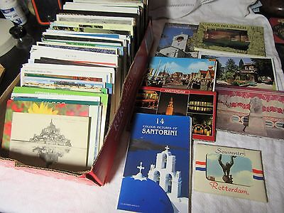 Approx 600 Job Lot POSTCARDS - Mostly Foreign 1970s/80s +