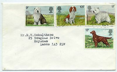 GB 1981 dogs FDC