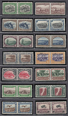 1931 South West Africa SG 74-87 fresh mint never hinged