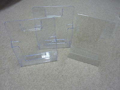 Assorted Selection of Perspex Display Items x 6+