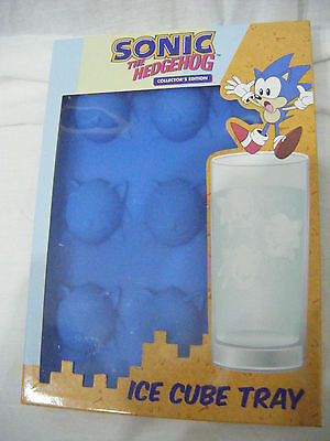 Official Sonic Hedgehog Collector's Edition Sega  Silicone Ice Cube Tray Mould