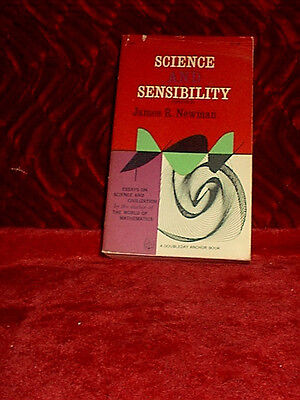 Science and Sensibility PB-Newman-1963-Photo's-Anchor Book-Essays on Science