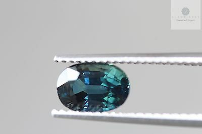 Loose Certified 2.43ct Natural Blue Sapphire