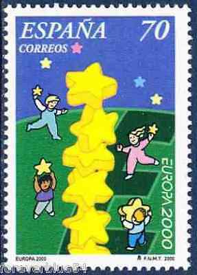Spain 2000 SG 3646 MNH  Europa Stars combined p&p
